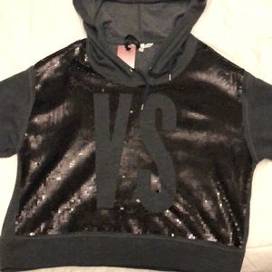 BNWT Victoria's Secret Fashion Show Sequin Hoodie